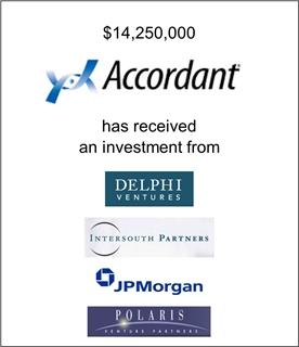Accordant Has Received an Investment