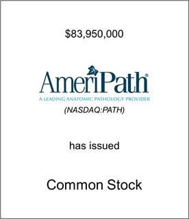 AmeriPath Has Issued Common Stock