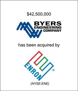 Byers Engineering Company Has Been Acquired