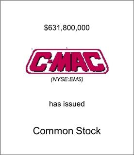 C-MAC has Issued Common Stock