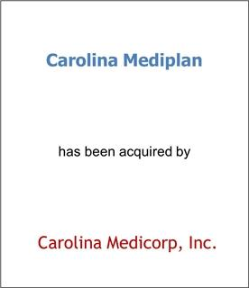 Carolina Mediplan Has Been Acquired