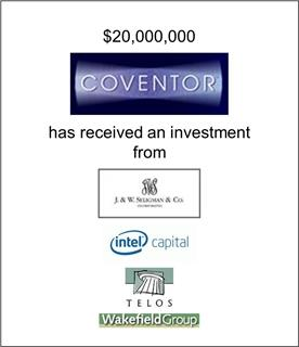 Coventor Has Received An Investment