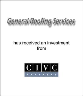 General Roofing Services Has Received an Investment