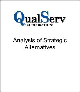 Genesis Capital Advised QualServ Corporation on Strategic Alternatives