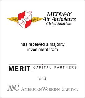 Genesis Capital Advises Medway Air Ambulance on its Majority Sale to Merit Capital Partners & American Working Capital