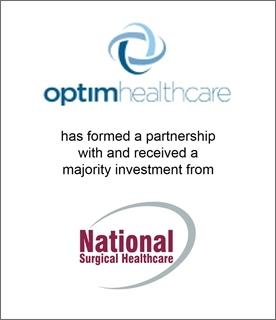 Genesis Capital Advises Optim Healthcare on its Majority Sale to National Surgical Healthcare
