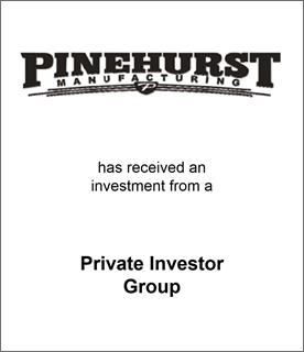 Genesis Capital Advises Pinehurst Manufacturing on its Recapitalization