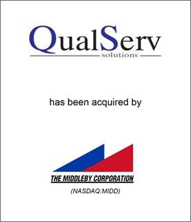 Genesis Capital Advises QualServ Solutions on Sale to The Middleby Corporation (NASDAQ: MIDD)
