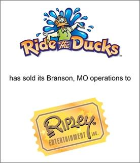 Genesis Capital Advises Ride the Ducks International on the Sale of its Branson, MO Operations to Ripley Entertainment