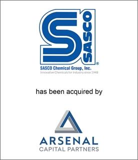 Genesis Capital Advises SASCO Chemical On Its Sale To Arsenal Capital's Specialty Polymers and Additives Platform