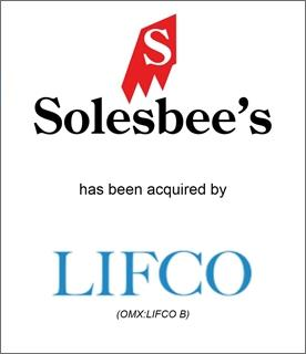 Genesis Capital Advises Solesbee's LLC on Cross-Border Sale to Lifco AB (OMX: LIFCO B)