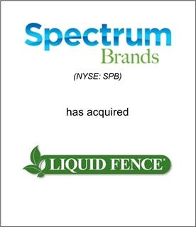 Genesis Capital Advises Spectrum Brands on its Acquisition of Liquid Fence