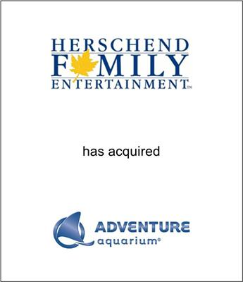 Herschend Family Entertainment Acquired Adventure Aquarium