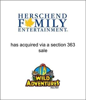 Herschend Family Entertainment Acquires Wild Adventures Out of Bankruptcy