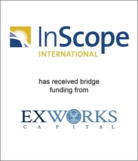 InScope International Has Received Bridge Funding from ExWorks Capital to Meet Its Rapidly Expanding Needs
