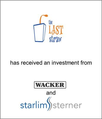 Last Straw Receives Strategic Investment from Starlim-Sterner and Wacker Chemical