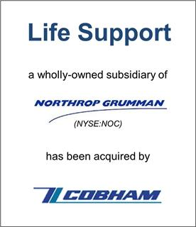 Litton Life Support, a division of Northrop Grumman, was Acquired by Cobham plc