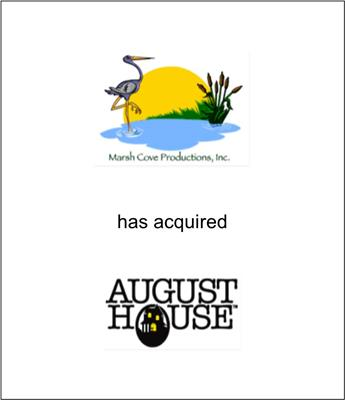 Marsh Cove Productions Acquired August House Publishers