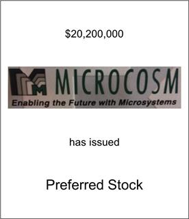 Microcosm Has Issued Preferred Stock