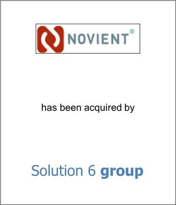 Novient Acquired by Solution 6 Holdings Ltd.