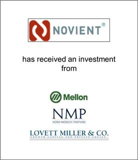 Novient Has Received an Investment