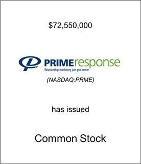 Prime Response Has Issued Common Stock