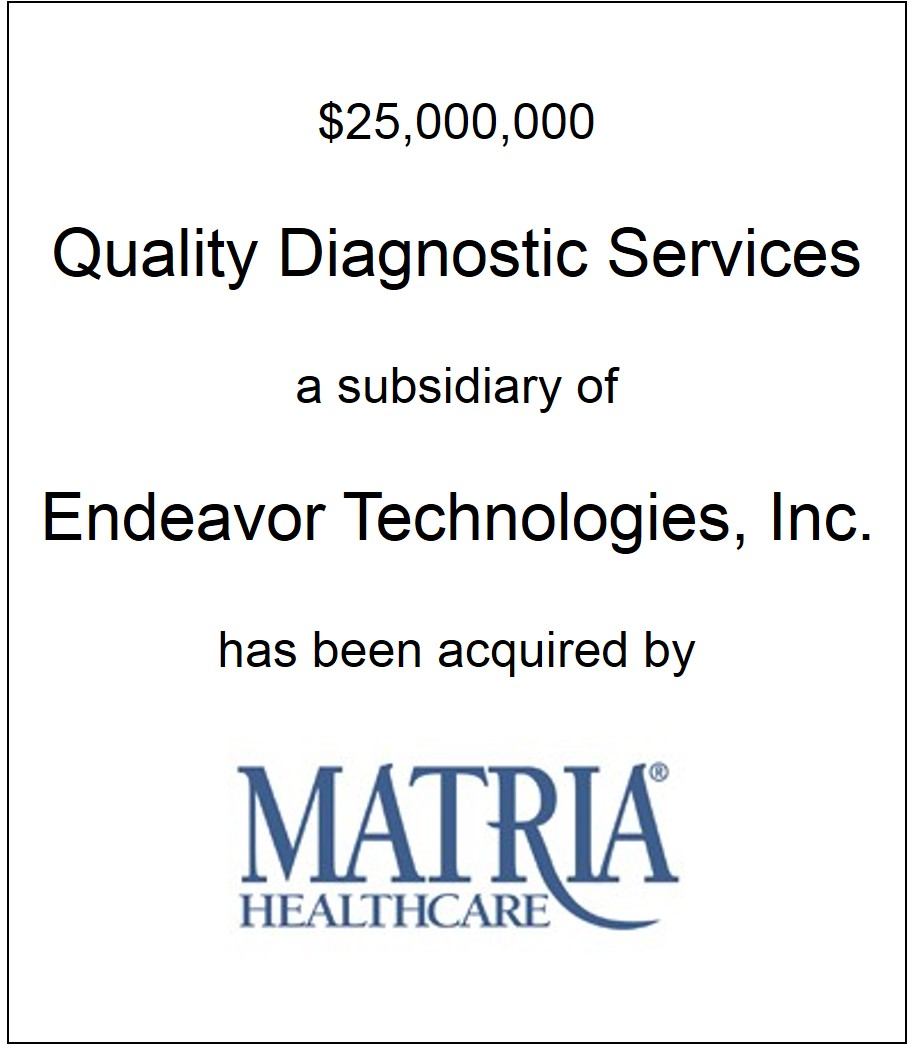 Quality Diagnostic Services Has Been Acquired
