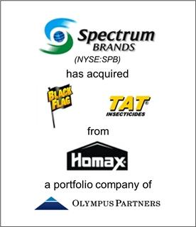 Spectrum Brands Holdings Acquires Black Flag® and TAT® Brands