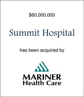 Summit Hospital Has Been Acquired