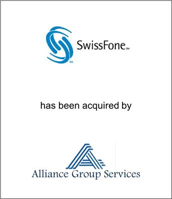 SwissFone International Ltd. Acquired by Alliance Group Services, Inc.