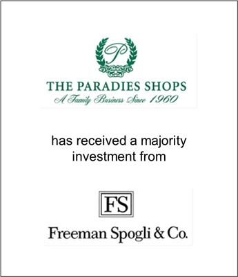 The Paradies Shops, Inc. Has Been Recapitalized by Freeman Spogli & CO.