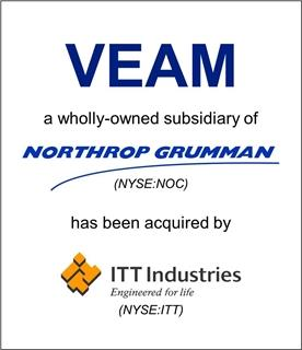 VEAM/TEC, a division of Northrop Grumman, Acquired by ITT Industries, Inc.