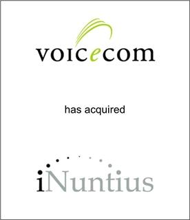 Voicecom Telecommunications, LLC Acquired iNuntius, Inc.