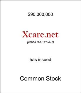 Xcare.net Has Issued Common Stock