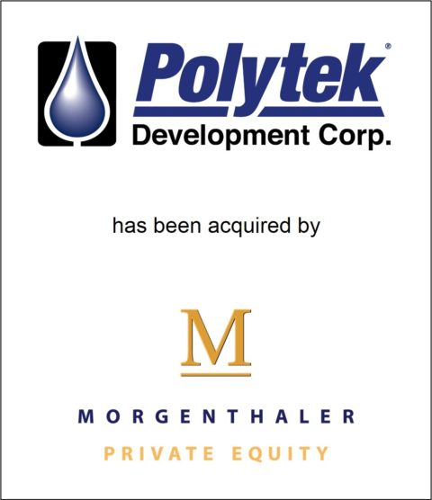 Genesis Capital Advises Polytek Development Corp. on its Acquisition by Morgenthaler Private Equity