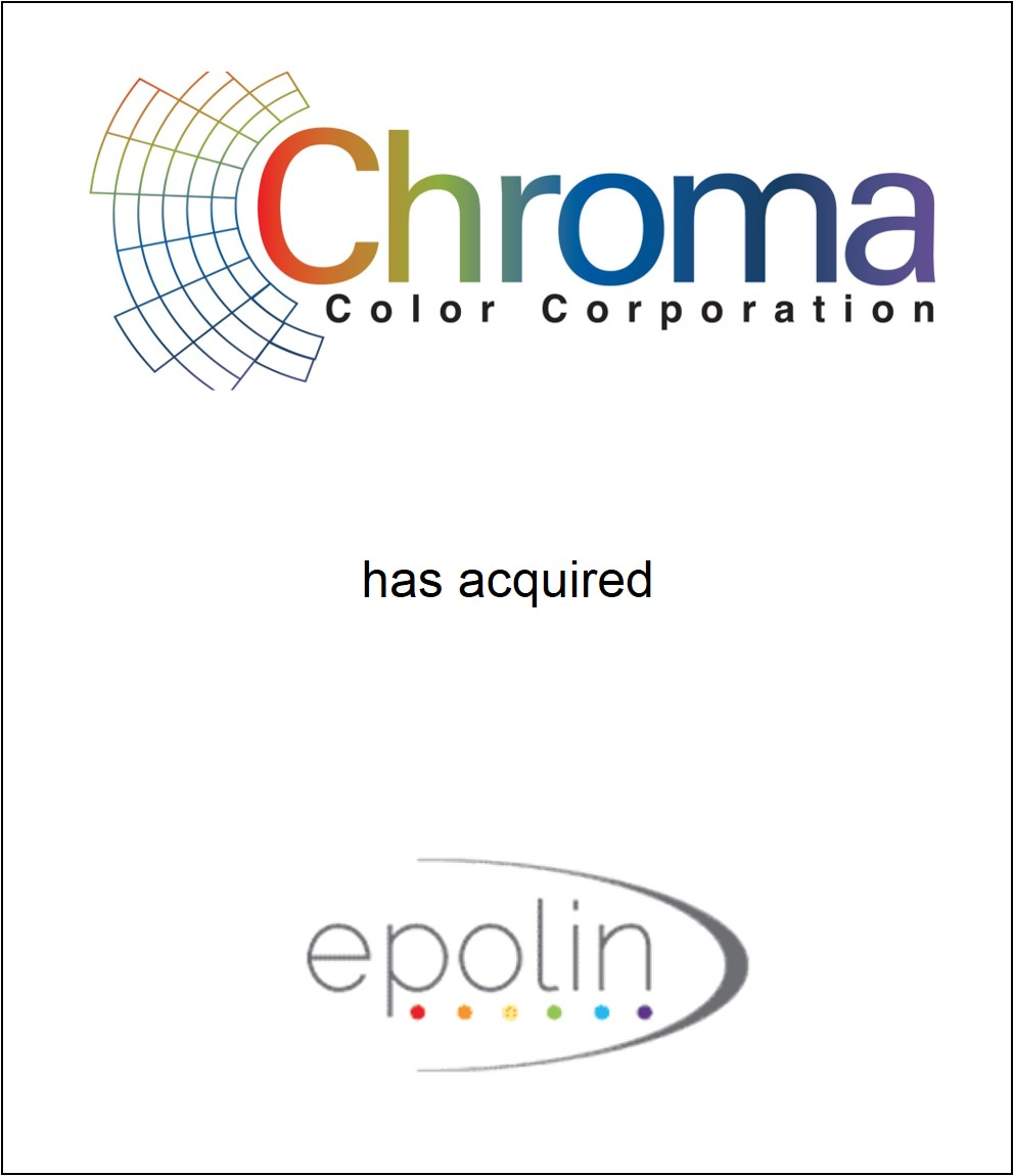 Genesis Capital Advises Chroma Color Corporation on its Acquisition of Epolin Chemicals LLC
